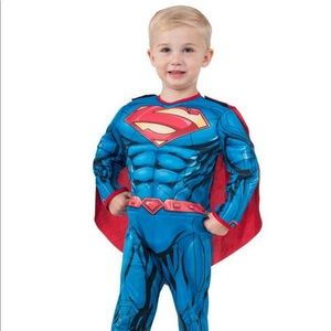 Toddler Superman Muscle Chest Costume